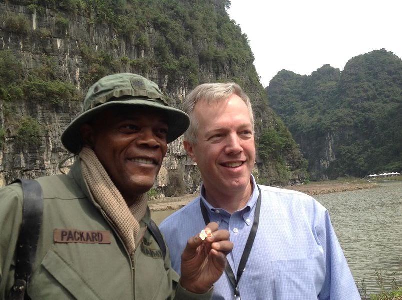 Samuel L. Jackson filmed 'Kong: Skull Island' in Vietnam