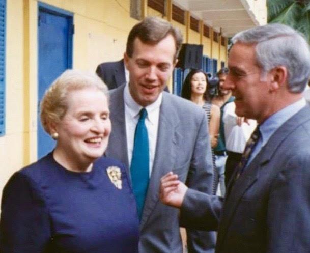 Secretary Albright's visit to Vietnam